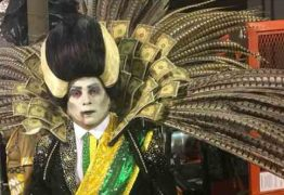 VEJA VÍDEO: Michel Temer é retratado como 'diabo' em desfile da escola da Paraíso do Tuiuti;