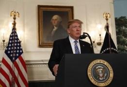 Trump diz que escola foi cena de 'violência terrível'