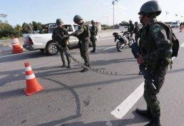 3 MIL MILITARES: Forças de segurança fazem ação conjunta nas divisas do Rio