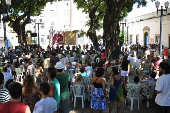 009 - Praça Rio Branco recebe Orquestra Sapeense de Frevo no Sabadinho Bom