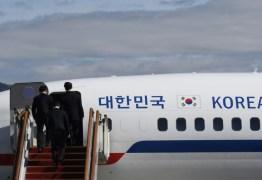 Enviados sul-coreanos chegam a Coreia do Norte para reunião com Kim Jong-un