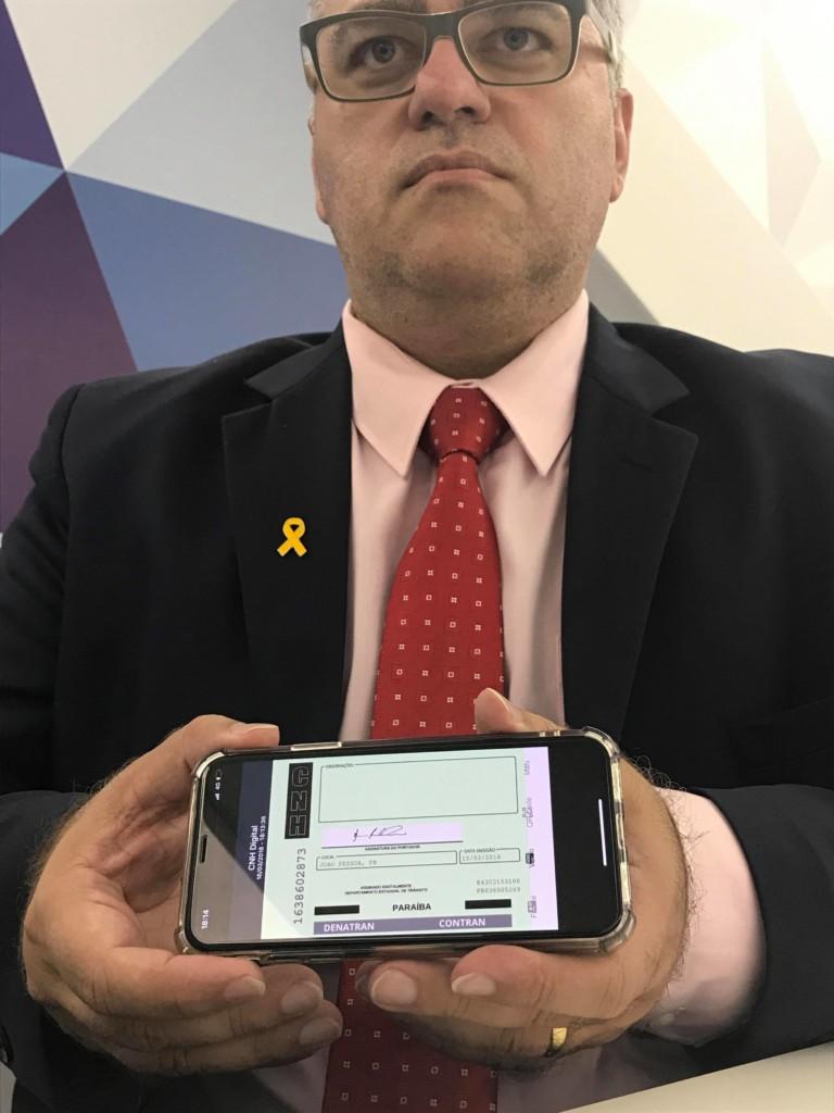 29342214 1758866547502837 7909230022735429632 o - EXCLUSIVO: Polêmica Paraíba apresenta a nova CNH Digital que vai entrar em vigor na PB; Veja vídeo e fotos
