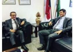 AGORA: José Maranhão tem encontro com Romero Rodrigues em Brasília