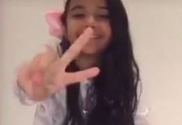 THE VOICE KIDS: Mariah pede apoio dos paraibanos para permanecer na competição musical
