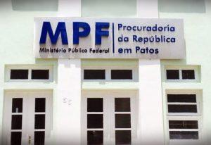 MPF Patos e1520275321184 - OPERAÇÃO RECIDIVA: MPF recomenda que prefeituras da PB paralisem obras feitas por empresas investigadas