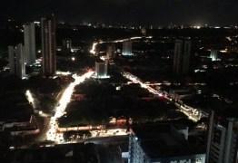 Energia é restabelecida em toda a Paraíba após cinco horas de apagão
