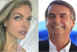PRÉ CANDIDATA: Pâmela Bório comemora filiação de Bolsonaro no PSL
