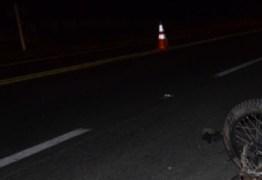 Motorista atropela motociclista e pedestre no interior da PB