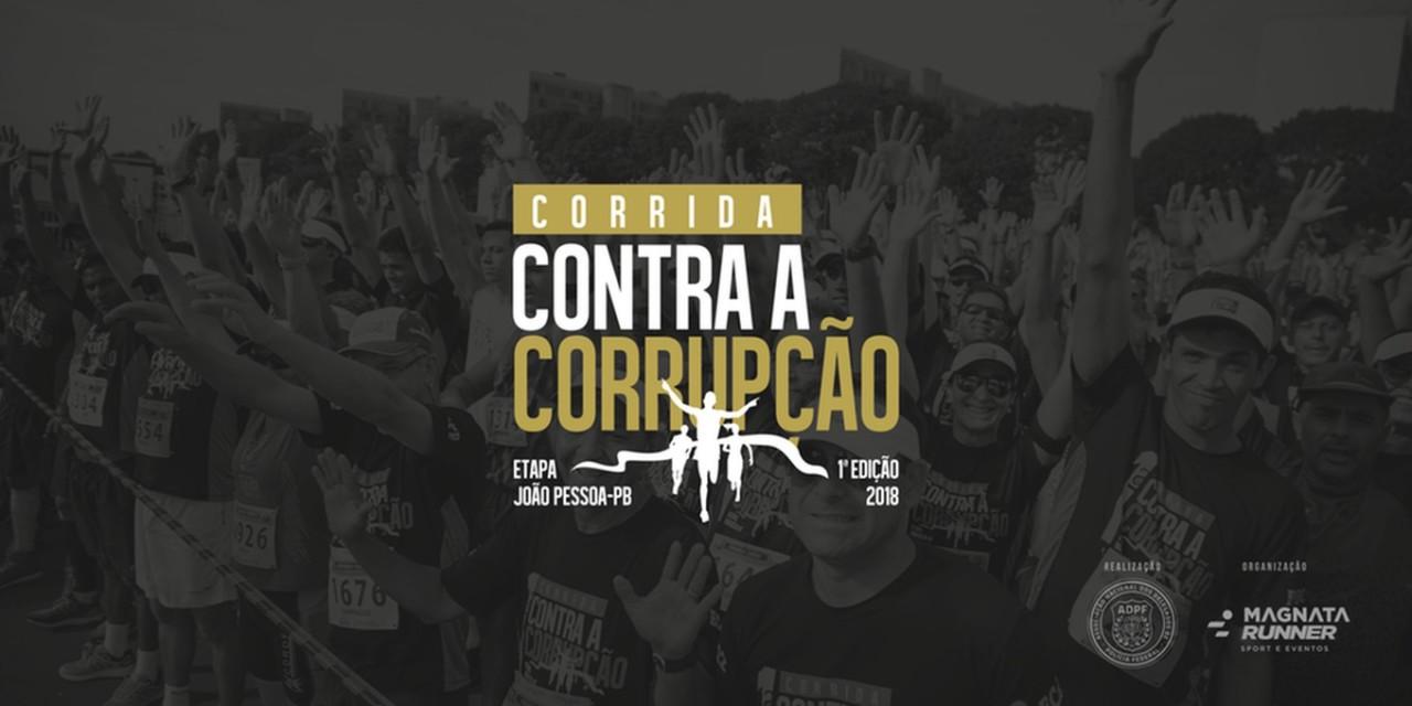 corrida contra a corrupcao - Corrida Contra a Corrupção: atletas podem se inscrever até o fim desta quarta-feira