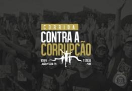 Corrida Contra a Corrupção: atletas podem se inscrever até o fim desta quarta-feira