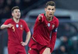Com dois gols de Cristiano Ronaldo Portugal vence amistoso contra o Egito
