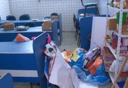 Escola pública é assaltada e ladrões fazem lanche antes de irem embora na Paraíba