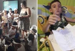 Crianças pedem pra visitar coleguinha que fez cirurgia e desejar Feliz Páscoa na casa dele