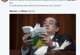 Bate-boca entre Barroso e Gilmar Mendes vira música e até poema nas redes sociais; veja principais memes