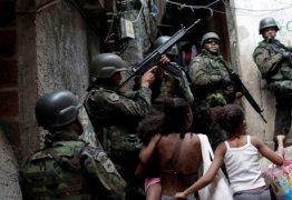 Escolas do Rio terão argamassa para resistir a tiros de fuzil