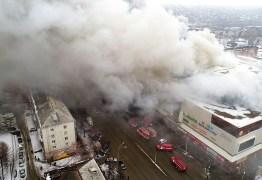Putin culpa negligência pelo incêndio em shopping que deixou 41 crianças mortas