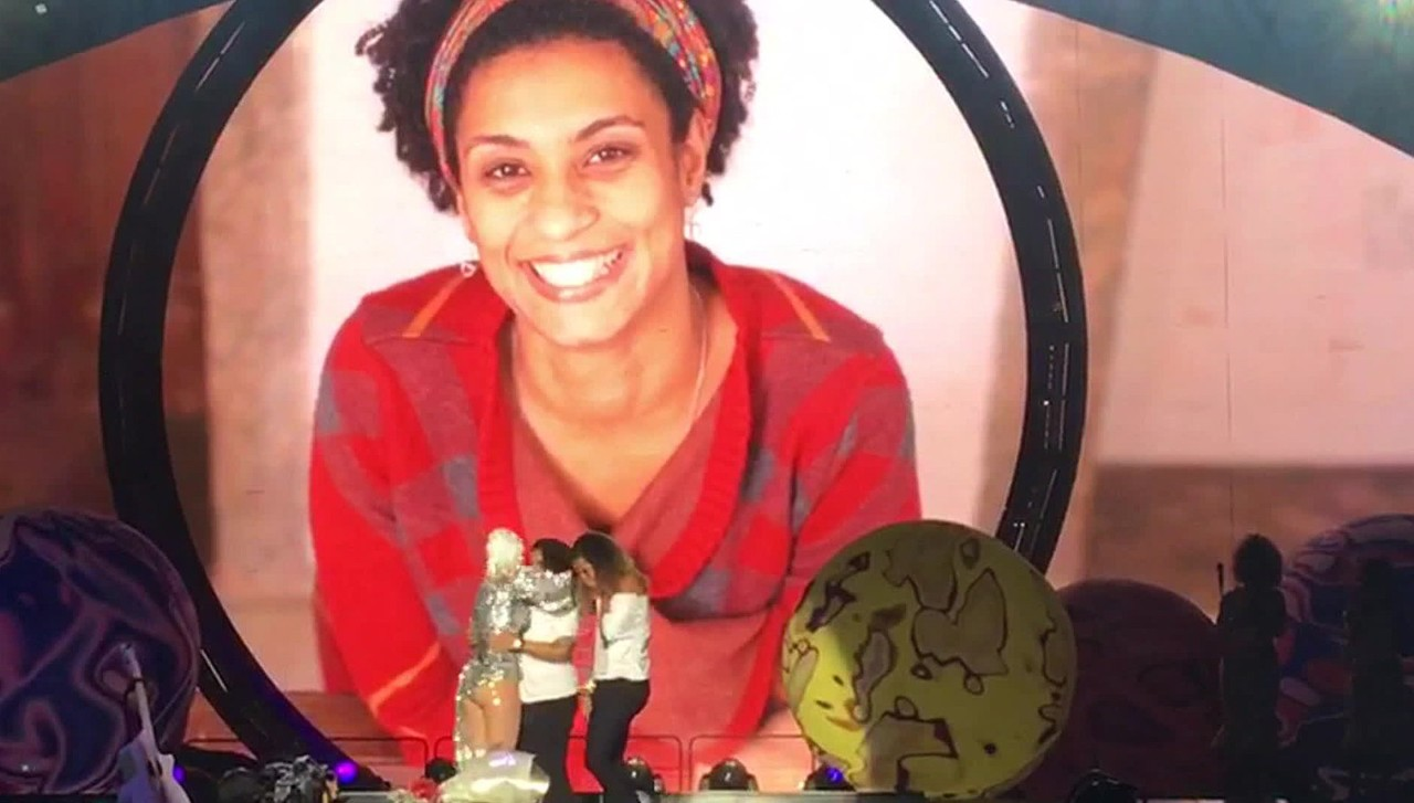 katyperrymariellefranco - VEJA VÍDEO: Katy Perry homenageia Marielle Franco durante show no Rio