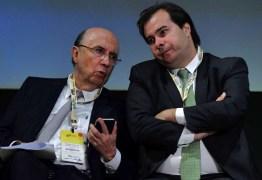 Pré-candidatos à presidência, Henrique Meirelles e Rodrigo Maia usam jatos da FAB