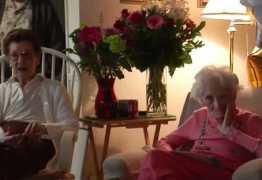 Mulheres de 100 anos revelam segredo: cerveja e fritas
