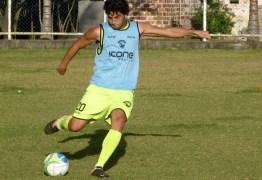 Campinense contrata Matheus Ortigoza para suprir a ausência de Rodrigo Silva