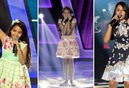 Semifinal do The Voice Kids vai ser transmitida em telão no Mangabeira Shopping