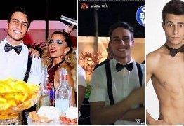 'Garçom gato' da festa de Anitta bomba na web após cantora fazer post com elogio; veja fotos