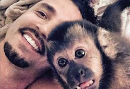 Latino receberá diamante feito com cinzas de seu macaco de estimação