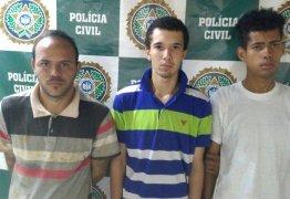 Três homens são presos por queimar comerciante vivo para assaltá-lo