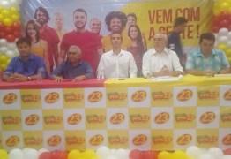 Dr. Érico Djan assina ficha de filiação e  lança pré-candidatura a deputado pelo PPS, em Patos