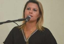 Primeira-dama de Santa Rita entrega cargo, se filia ao PP e vai disputar vaga de deputada estadual