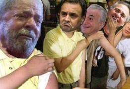 Sistema de blindagem trinca após prisão de Lula