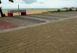Prefeitura conclui obras de recuperação da calçadinha de Manaíra