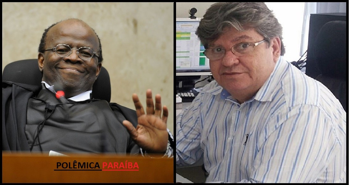 Joaquim Barbosa4 - Presidentes de diretórios do PT rechaçam candidatura de Joaquim Barbosa e negam apoio a João Azevedo