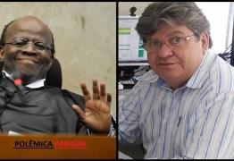 Presidentes de diretórios do PT rechaçam candidatura de Joaquim Barbosa e negam apoio a João Azevedo