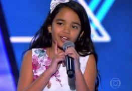 Paraibana Mariah Yohana é tietada por Neymar e Bruna após final do The Voice Kids