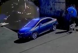 Motorista embriagado atropela PM e foge -VEJA VÍDEO