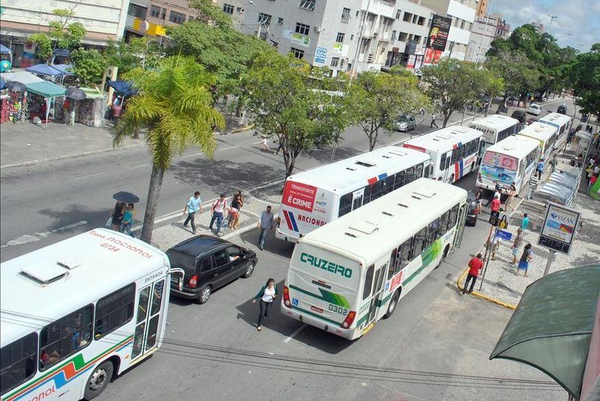 campina grande onibus - Usuários de transporte coletivo em CG vão passar por biometria facial no São João