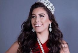 Modelo Ana Carla Medeiros é eleita Miss Paraíba Universo Be Emotion 2018