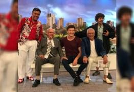 Rodrigo Faro grava participação especial em 'A Praça É Nossa'