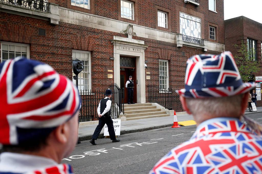 inglaterra - Nasce terceiro filho de Kate e do príncipe William