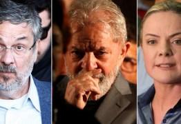 PGR denuncia Lula, Gleisi, Palocci e mais 3 por corrupção e lavagem de dinheiro
