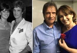 Myriam Rios revela para Silvio Santos que segue apaixonada por Roberto Carlos