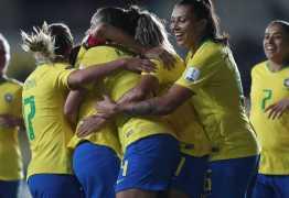 Seleção Feminina lidera do Grupo B da Copa América