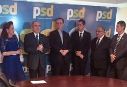 Em Brasília, senador Raimundo Lira assina filiação ao PSD