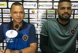 Contratado pelo Botafogo-PB, goleiro Rhuan é apresentado na Maravilha do Contorno