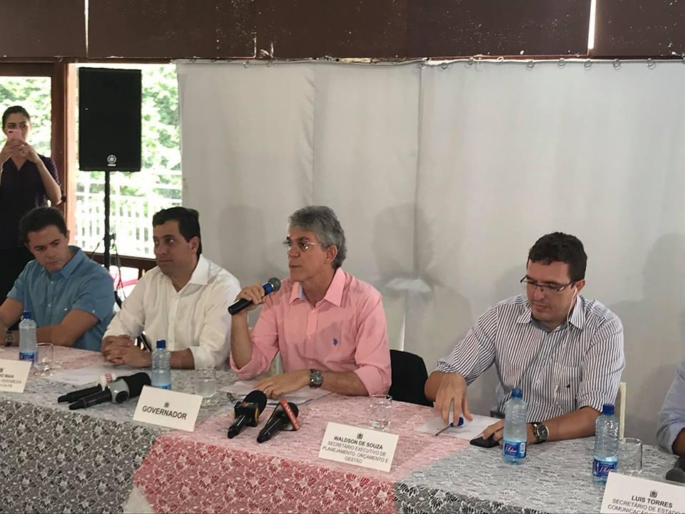 ricardo mesa 1 - Ricardo presta solidariedade a Lula agora na coletiva do PSB