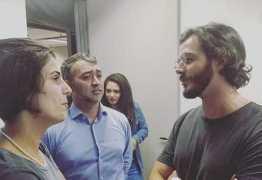 Túlio Gadelha, namorado de Fátima Bernardes, vai a SP para apoiar Lula