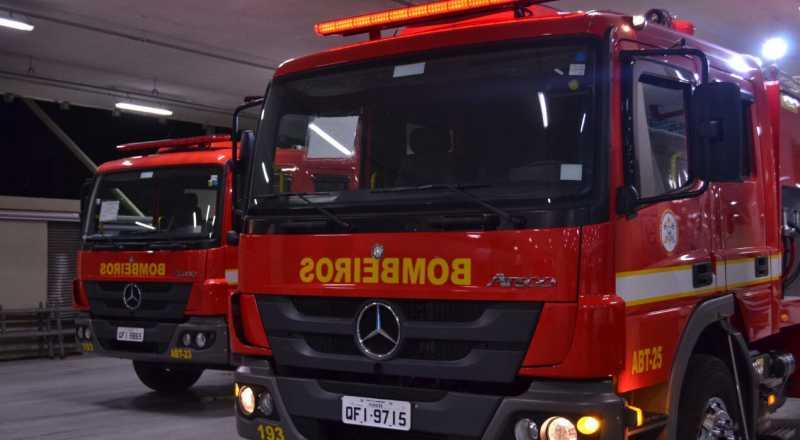t 5 - PERIGO: Duas crianças ficam feridas durante incêndio em apartamento