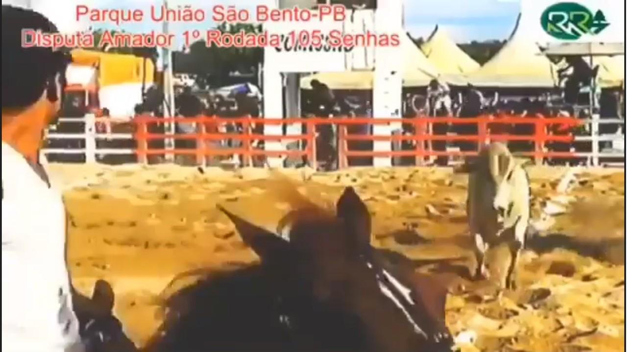 tiros vaqeujada 2 - VEJA VÍDEO: Vaqueiro é assassinado com vários tiros durante vaquejada, em São Bento