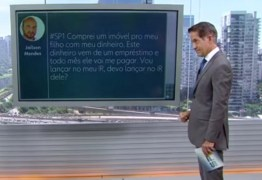 VEJA VÍDEO: Apresentador cai em pegadinha de meme pornô ao vivo em jornal da Globo